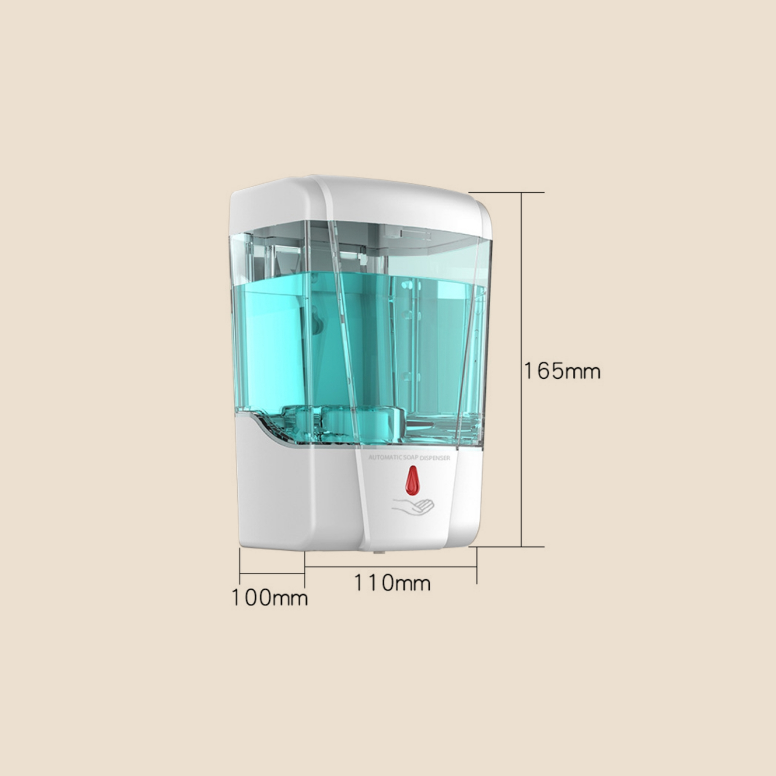 2 in 1 Thermometer plus Automatic Alcohol Dispenser