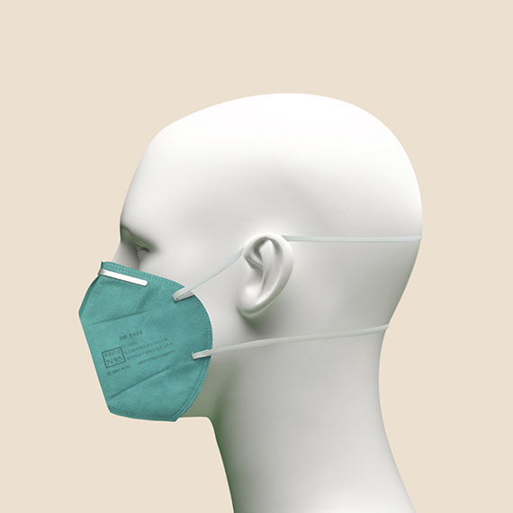 3M NIOSH 9132 Face Mask