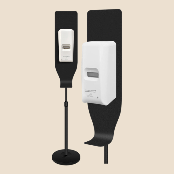 1 liter hand sanitizer dispenser with adjustable stand