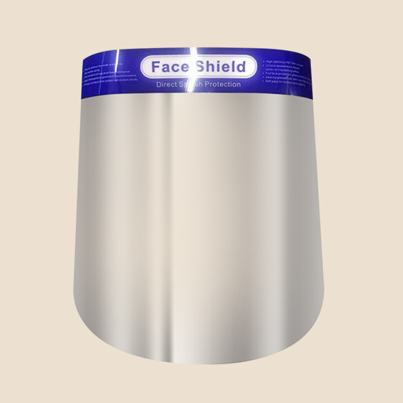 Plastic Acetate Face Shield