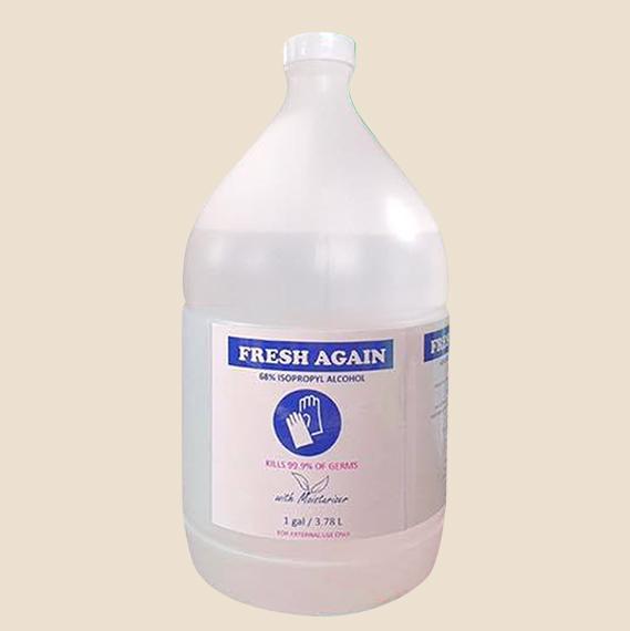 Fresh Again 70% isopropyl alcohol 1 galloon