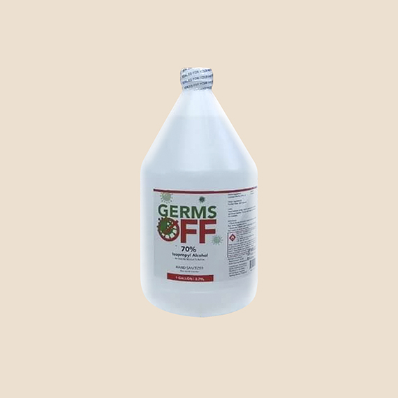 Germs Off Isopropyl Alcohol 1 Gallon