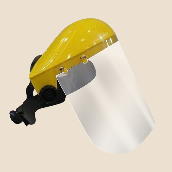 PVC Browguard Swing up Face shield
