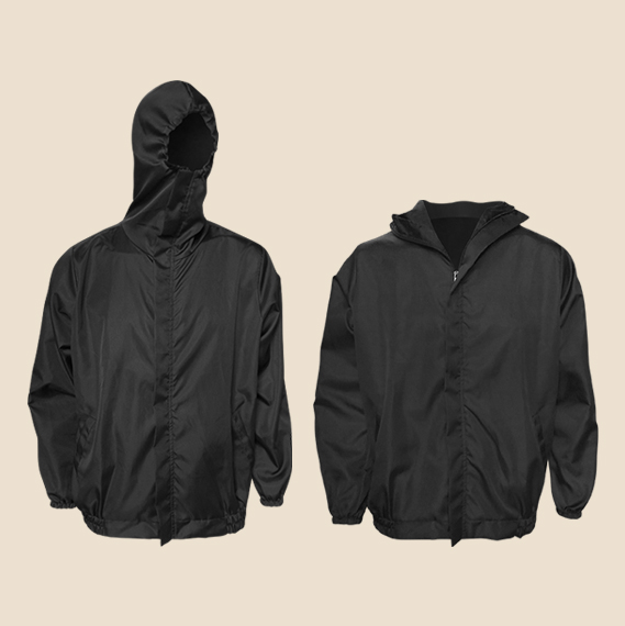 Personal Safety Gear Short PPE Jacket with Hoodie