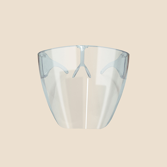 Clear Face Visor Wrap