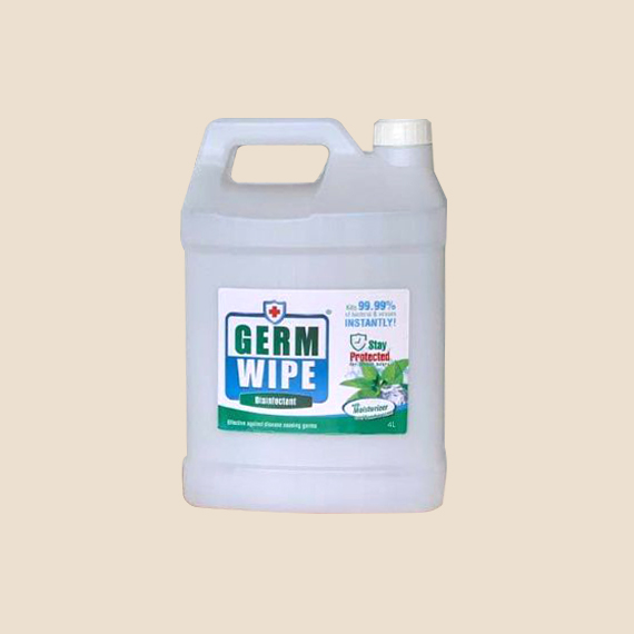 PPE Supplier Philippines, Germ Wipe 70% Isopropyl alcohol 4 liters with pump
