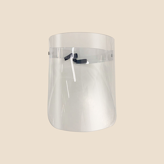 Lite Swing Up Clear Face Shield