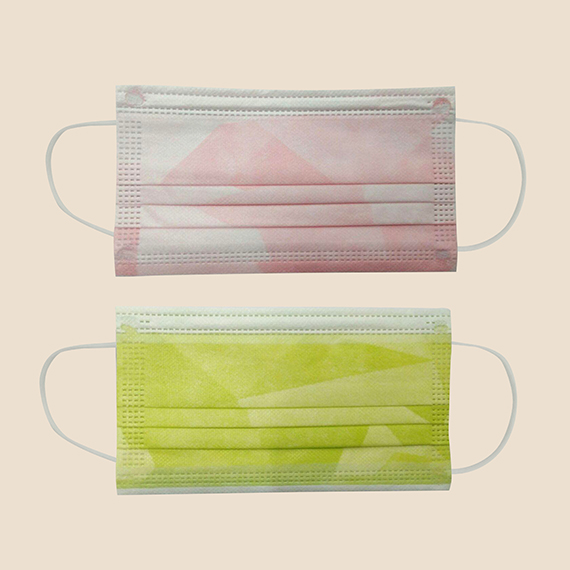 Face Mask with 3 layers of protection with different print