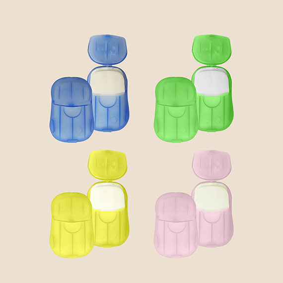 Uniform Supplier Philippines, Portable Paper Hand Soap Sheet in different color