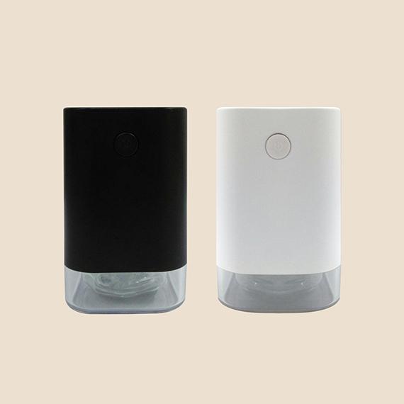 Black and White Spray Up Sensor Alcohol Dispenser