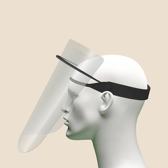 Swing Up Acetate DIY Face Shield