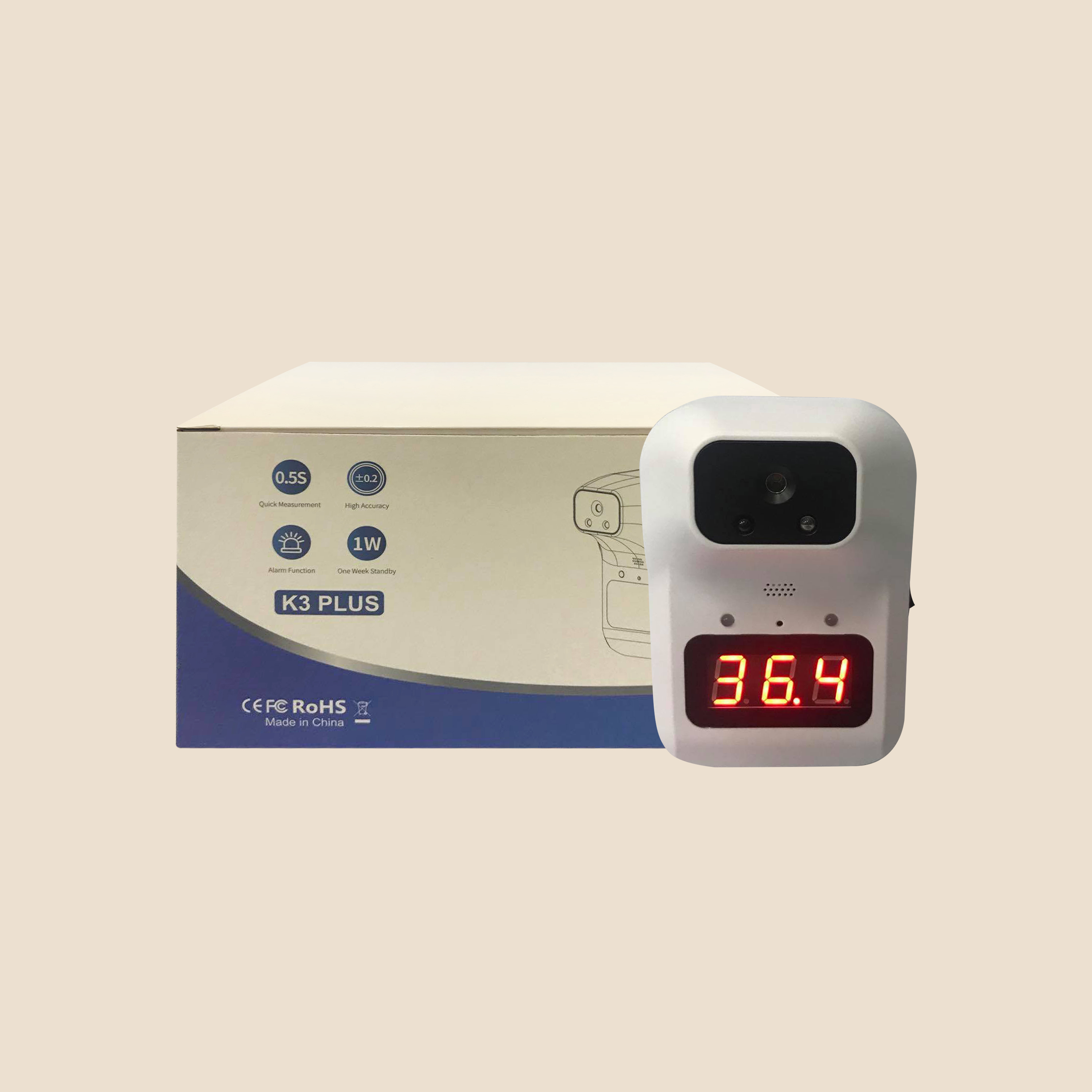 Contactless Thermal Scanner Unit