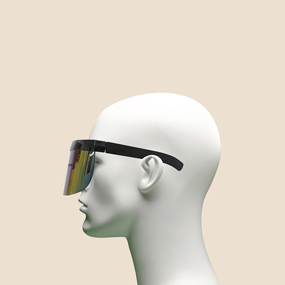 Rainbow Visor Glasses