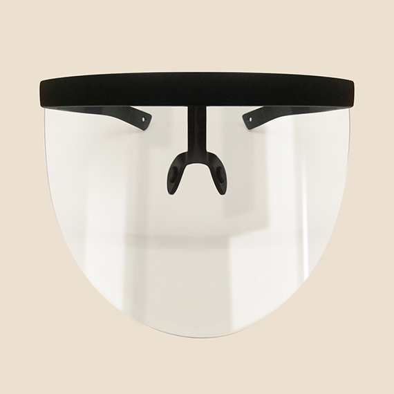 PPE Supplier Philippines, Black and White Face Visor