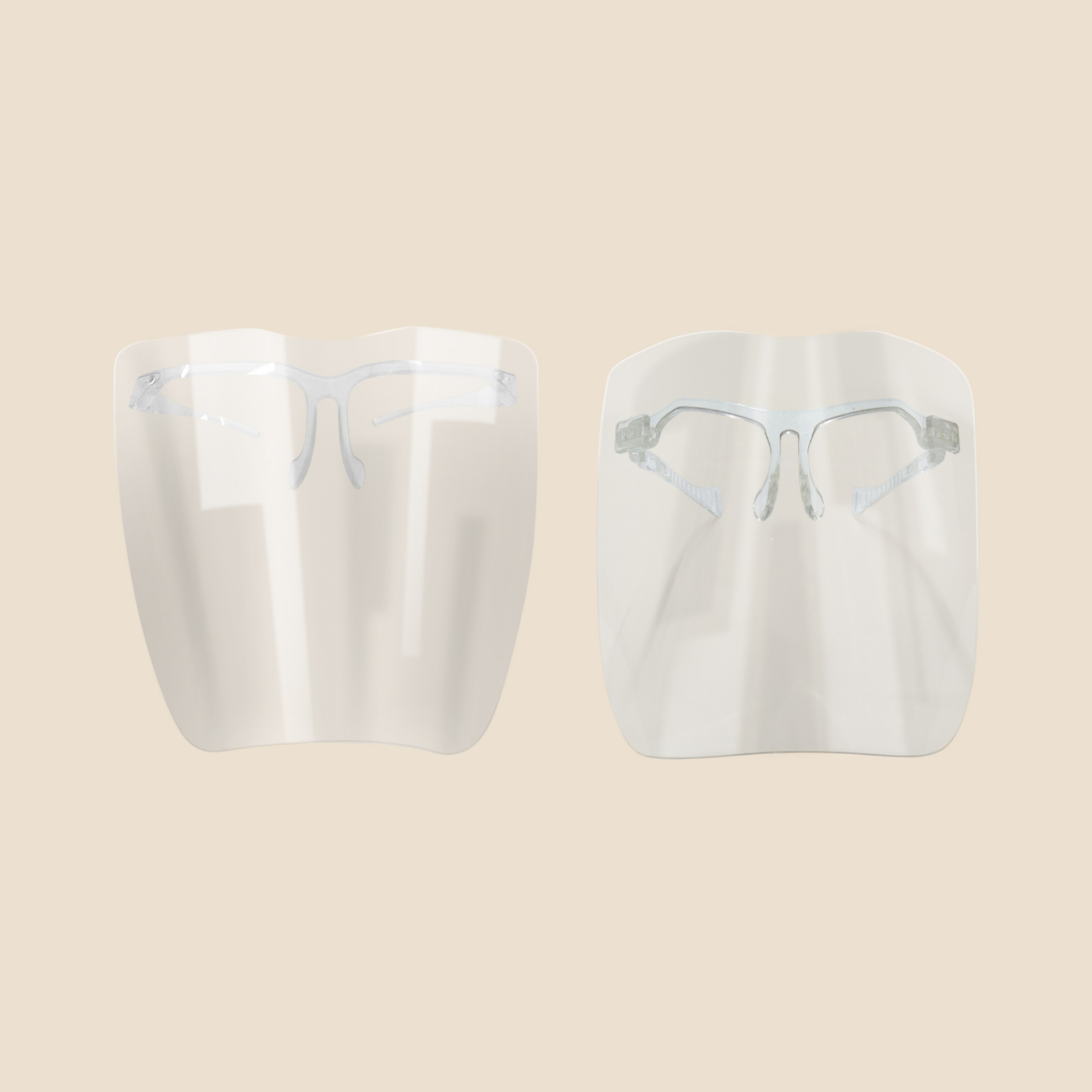 Personal Protective Equipment Clear Face Visor
