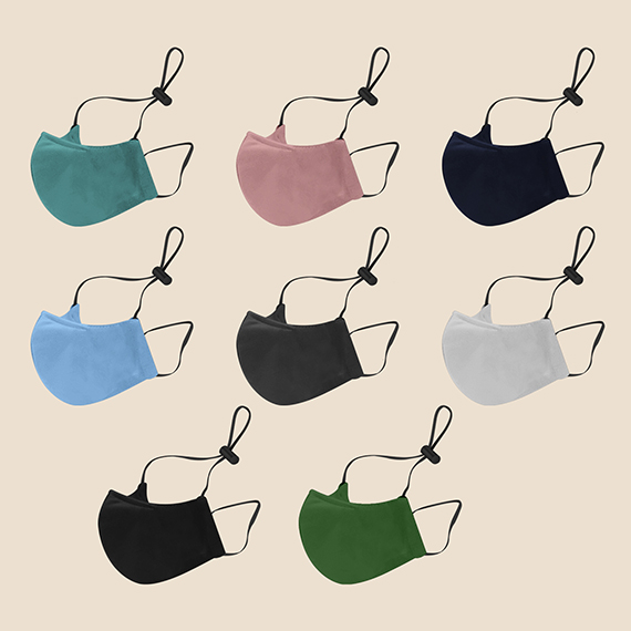Washable Face Mask Philippines, different colors of washable face mask with adjustable head loop